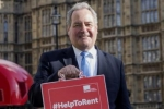 Bob supporting the Help to Rent campaign