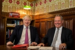 Bob Blackman with Boris Johnson